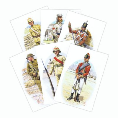 Alix Baker Set Of 11 Postcards