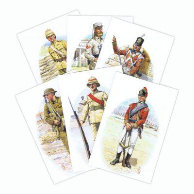 Alix Baker Set Of 11 Postcards