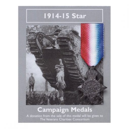 Campaign Medals: 1914-15 Star