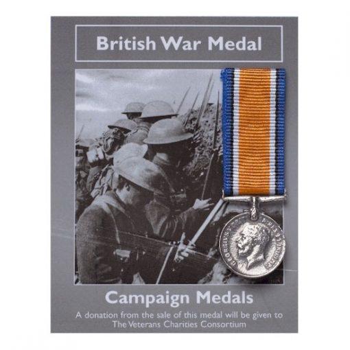 Campaign Medals: British War Medal