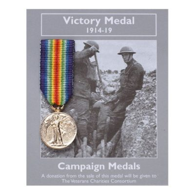 Campaign Medals: Victory Medal 1914-19