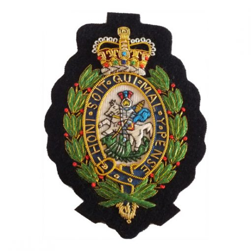 RRF Wire Blazer Badge