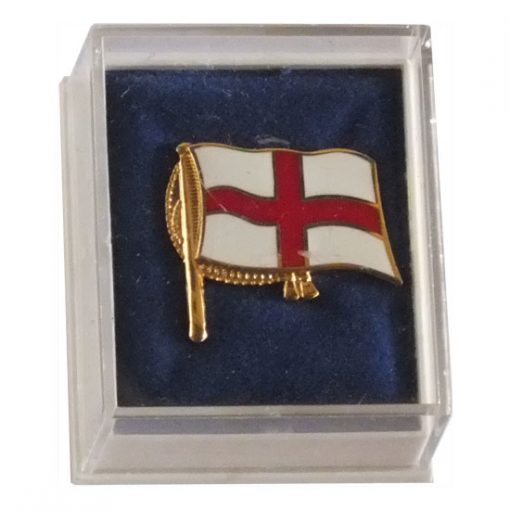 St George Lapel Badge